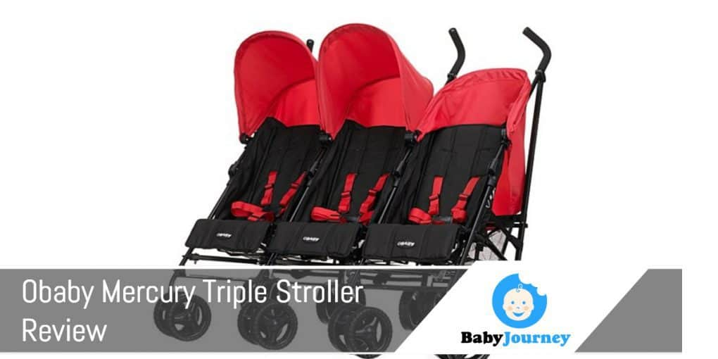 Obaby Mercury Triple Stroller Review
