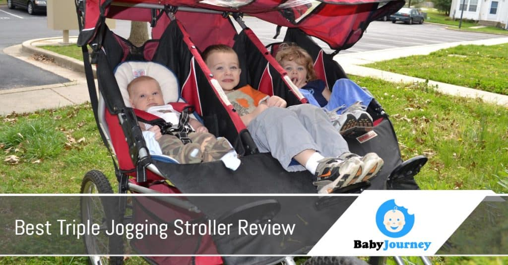 Best Triple Jogging Stroller Review By Baby Journey