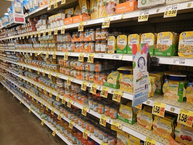 Image result for baby food aisle