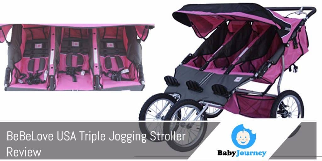 Belove Usa Triple Jogging Stroller Review By Baby Journey