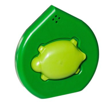 What a cool looking turtle designed Mimo Smart Baby Monitor sensor device!