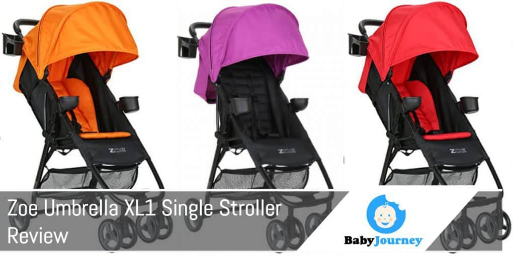Zoe Umbrella XL1 Single Stroller Review
