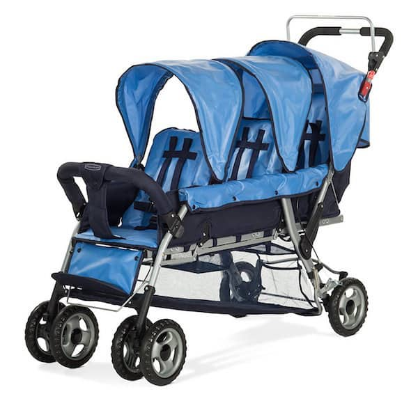 Foundations The Trio Sports Triple Tandem Stroller Review