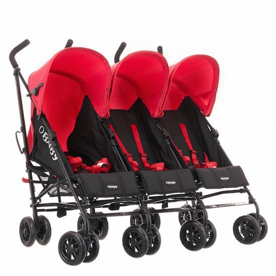 Presenting to you – Obaby Mercury Triple Stroller