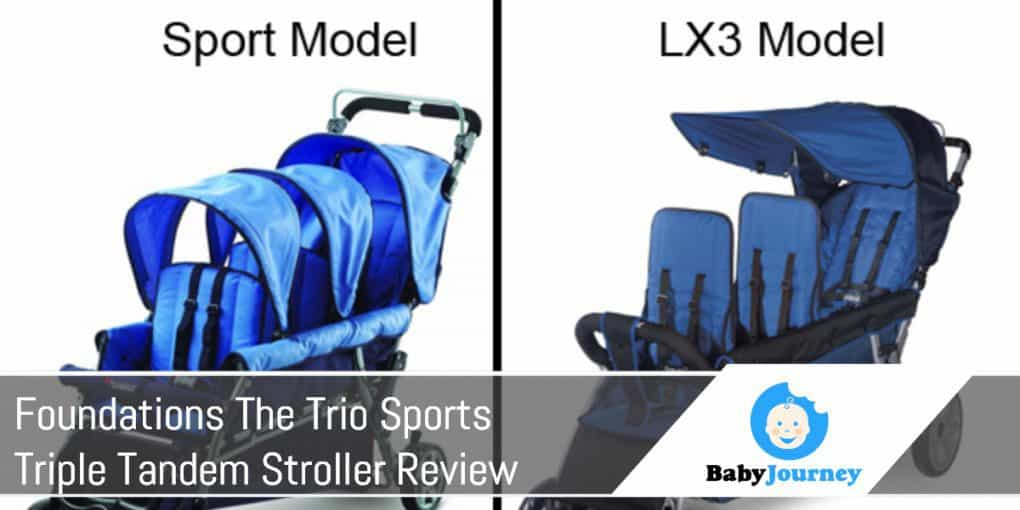 Foundations The Trio Sports Triple Tandem Stroller
