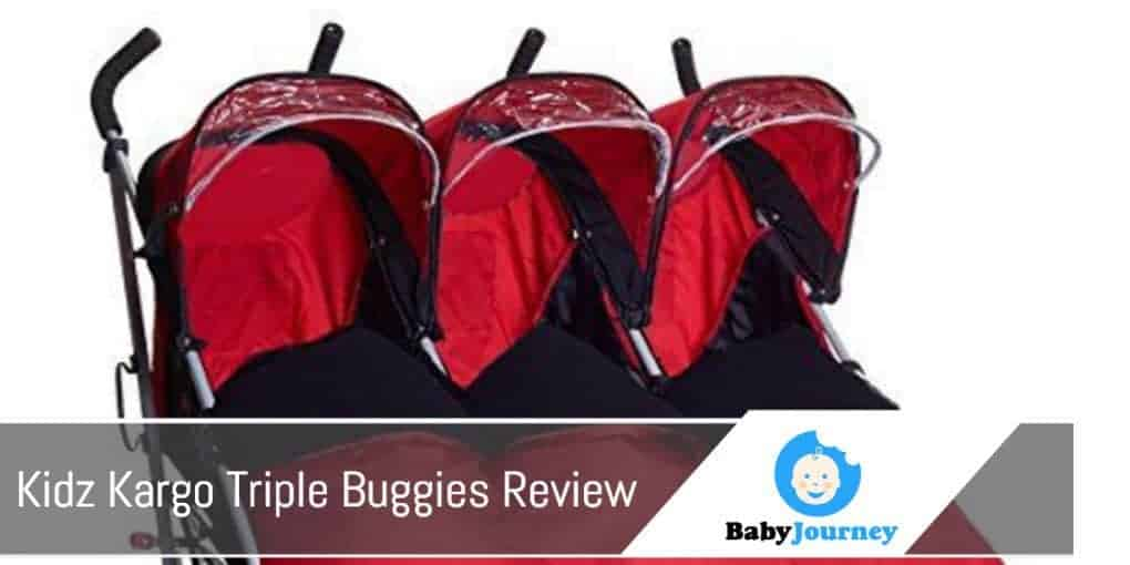 Kidz Kargo Triple Buggies Review