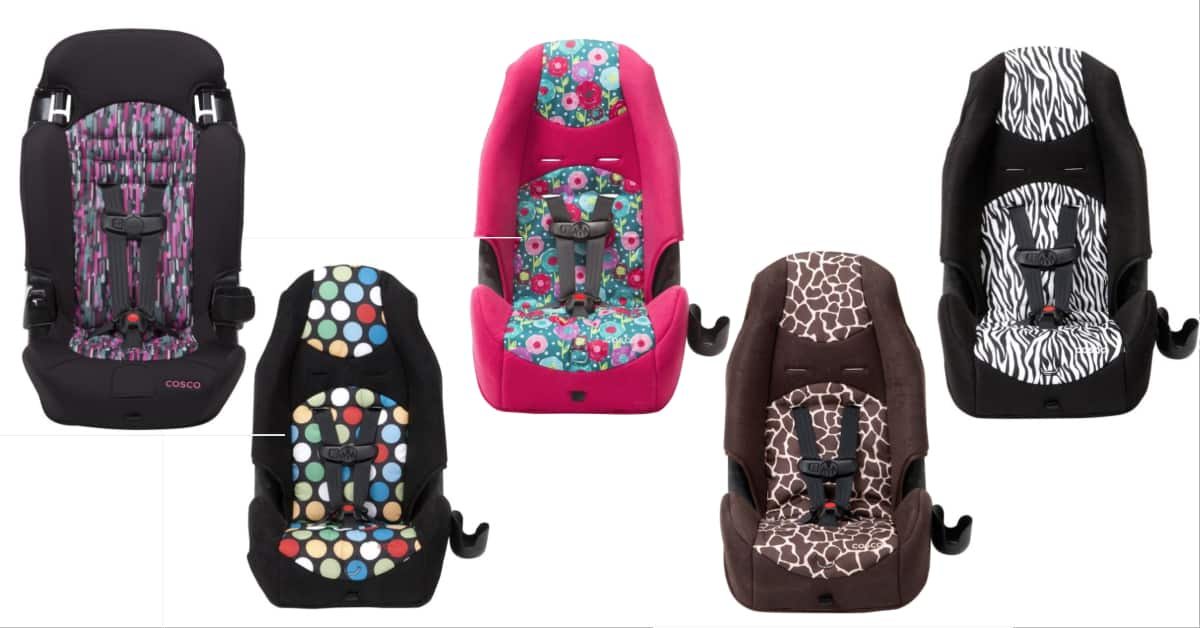 HIGHBACK 2-IN-1 BOOSTER CAR SEAT with multiple color choice
