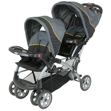 Two seating capacity makes it ideal for families with more than one small child.