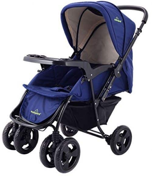 The Costzon is as plain and simple as a convertible stroller can get.