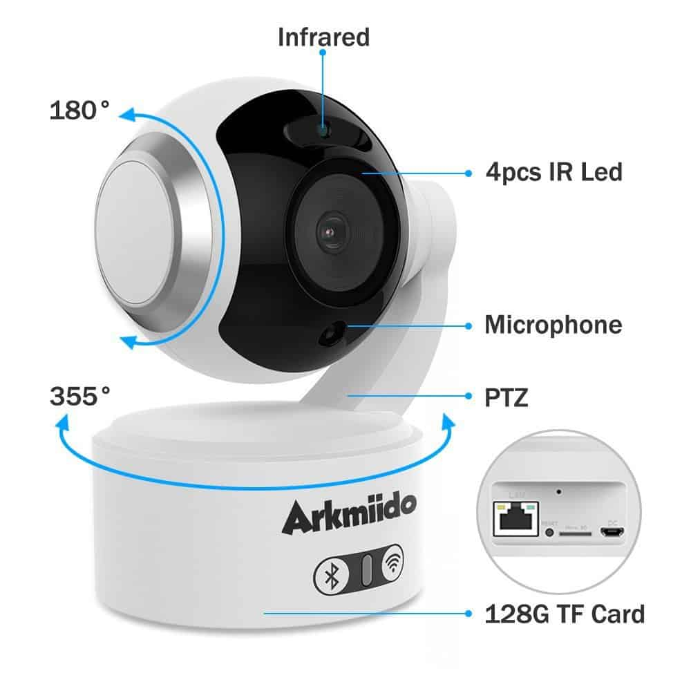 The Arkmiido features a straightforward design that makes it easy to use.