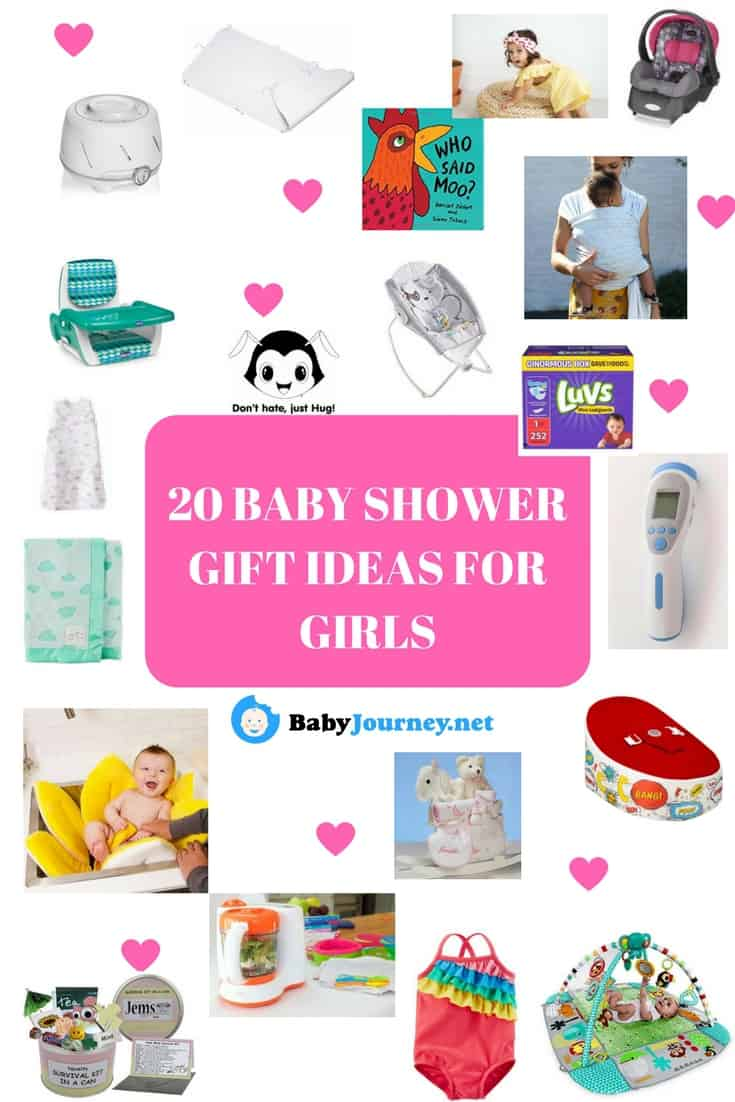 20 BABY SHOWER GIFT IDEAS FOR GIRLS