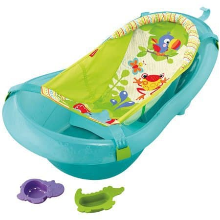 This is an attractive baby bathing tab that will entice the kid to enjoy his bathing moments