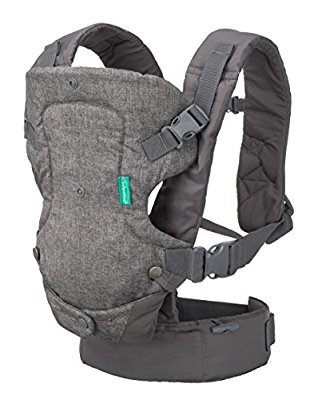 This carrier makes it easy for the mother to go on with her daily activities with her baby in position