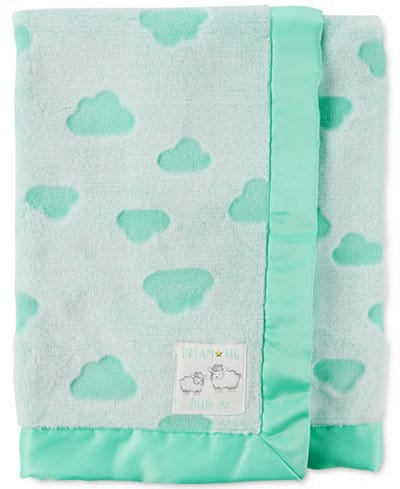 The Macy's reversible blanket is an awesome pick for both boy and girl.