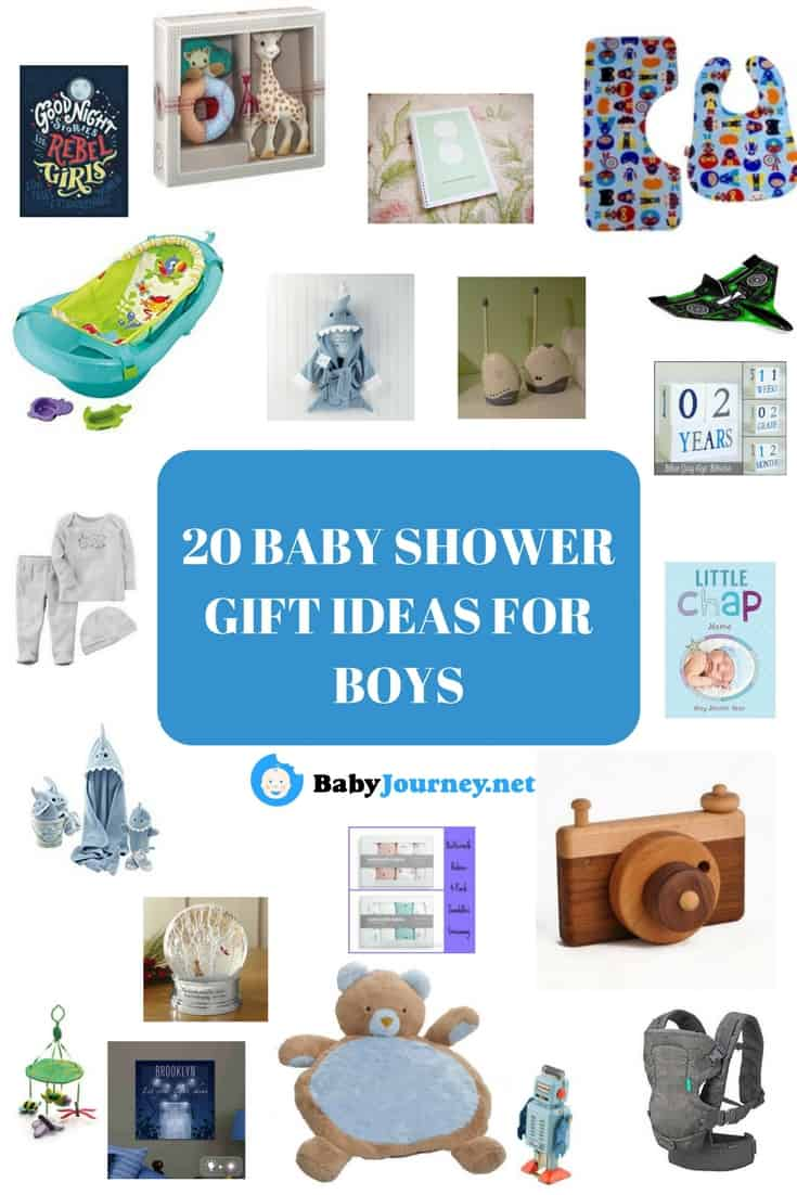 20 BABY SHOWER GIFT IDEAS FOR BOYS