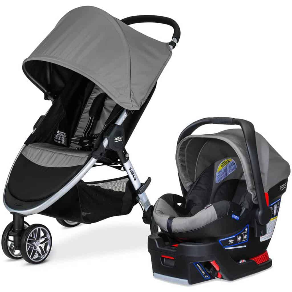 Britax 2017 B-Agile Travel System (Source: The Kiddies Store)