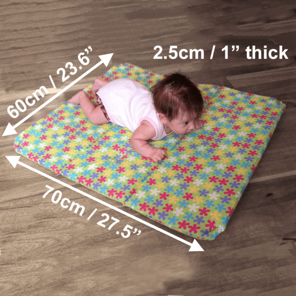 A thick mat is important for Best Play Mats for Hardwood Floors