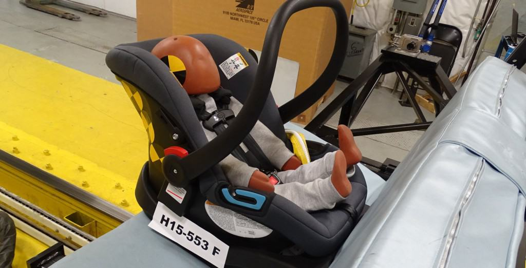 The Graco SnugRide Elite has been crash tested to ensure safety (Source: Baby Gear Lab)