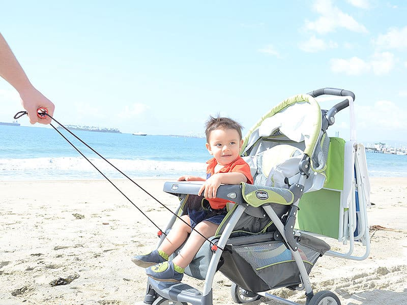 Keep your baby safe and happy and your sanity intact with best strollers for beach sand.