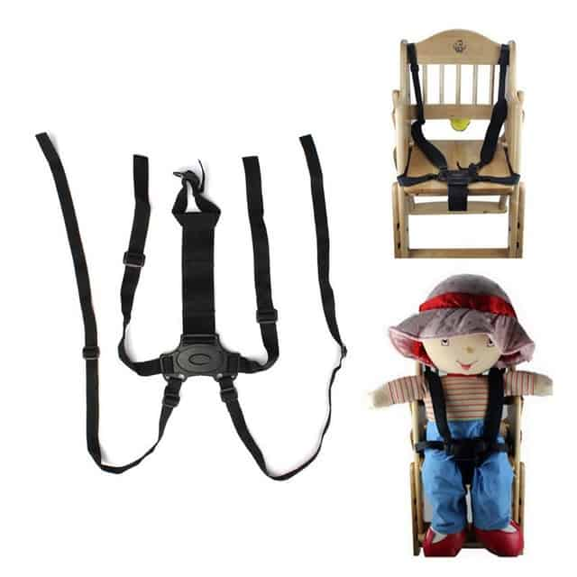 The five-point harness is ideal when choosing the Best Baby Swings and Bouncers Combo