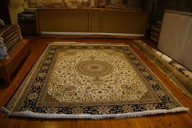 Loose rugs and carpet can cause unsure feet to trip (Source: Pixabay)