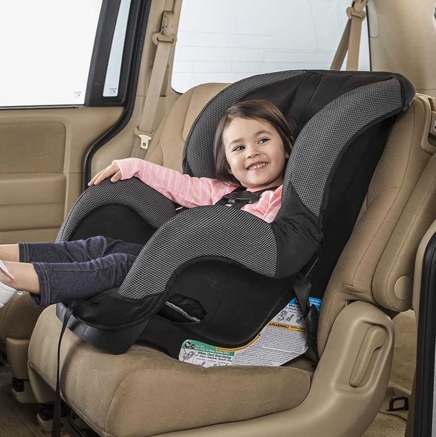 The SureRide DLX supports children 5-65 pounds (Source: Ideal Baby)