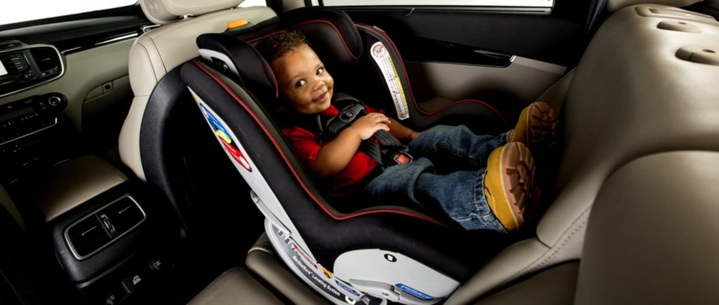 The Evenflo SureRide DLX is lightweight and roomy for big children (Source: MyBetaNYC)