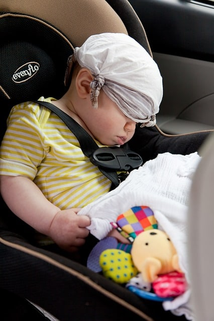 Don't assume your baby is safe in an unattended carrier (Source: Pixabay)