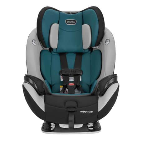 The Evenflo EveryStage LX convertible car seat (Source: Evenflo)