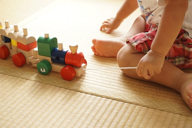 Play mats create the perfect space for babies and toddlers to play (Source: Pixabay)