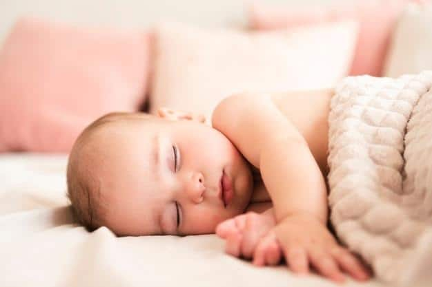 Sleep in babies is fundamental for growth and development.