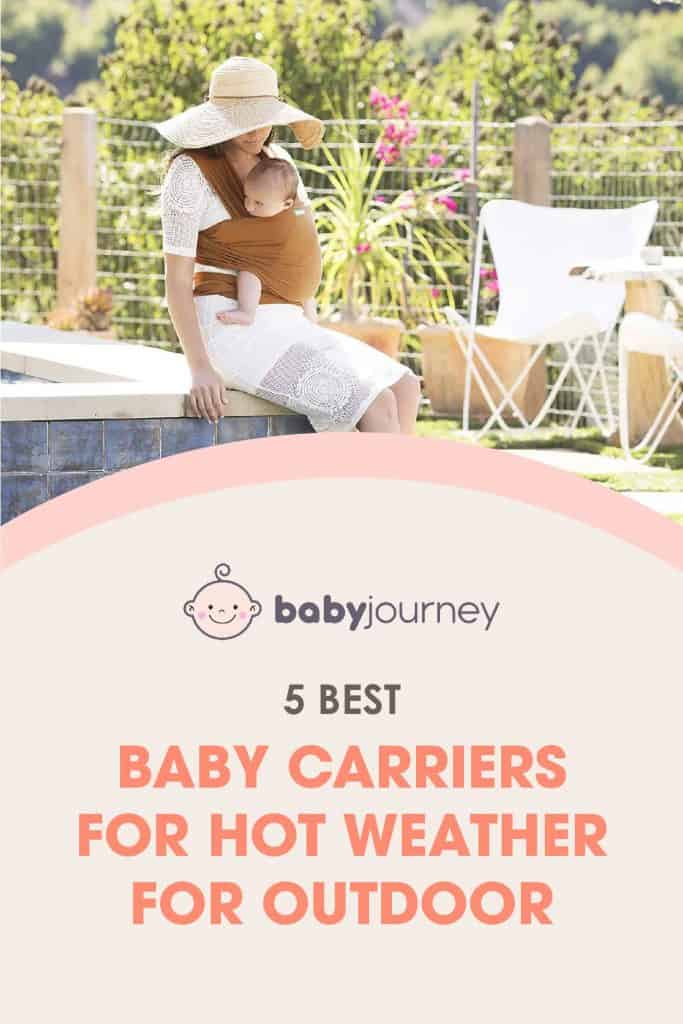best baby carriers for hot weather